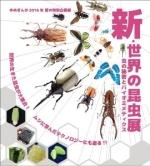 夏の特別企画展「新・世界の昆虫展~虫の秘密とバイオミメティクス」