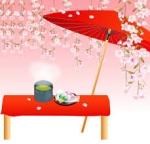 桜まつりお茶会