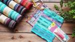 まだ間に合う!夏の自由研究 グアテマラの布を使って 給食セットの巾着袋を作ろう♪