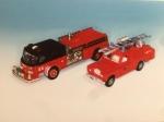 世界の消防自動車ミニカー展