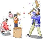 新春もちつき会【若狭公民館】