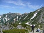 アルプス立山三山を目指す初級「伊丹の夏山教室」