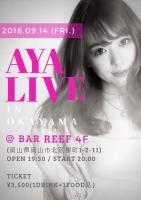 AYA LIVE in OKAYAMA