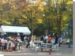 城北中央公園「環境まつり」~防災用竈(かまど)とベンチを使ってみよう~