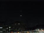 金星・月・木星の天体ショー ★