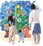 ペイント&クラフトで「とことん楽しむクリスマス」