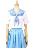 新番アニメコスプレ衣装 満艦飾マコ(まんかんしょくマコ)セーラー服