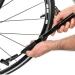 ミニ自転車ポンプ 仏式/米式バルブ対応 自転車に装着可能