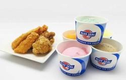 からあげ専門店 鶏よし&ブルーシールアイスクリーム