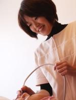 日本エステティック協会主催 講習会で モデル