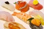 中央市場から毎朝仕入れる新鮮な魚介類を使ったお寿司は満足のいく美味しさでした