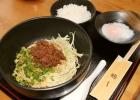 広島風汁なし担々麺 一楽