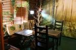 外の雑踏を忘れさせてくれる静かで落ち着いたカフェです。