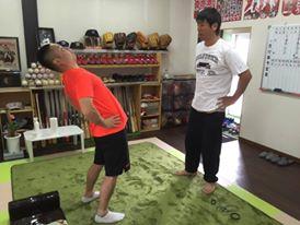 野球選手の身体能力向上!