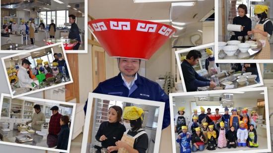 「広島ラーメンで心のふれあい体験学習」 ←HPはここをクリックしてね!
