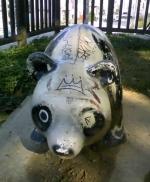 希望が丘公園のファンキーなパンダ