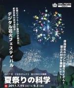 夏の特別企画展「夏祭りの科学」
