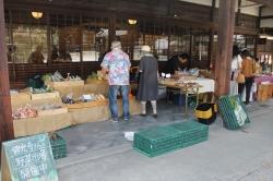 佛光寺さんの野菜市場