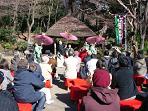 小石川後楽園「大名庭園でお正月」