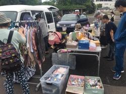 フリーマーケット in ふれあい広場あつべつ 6/2(土)