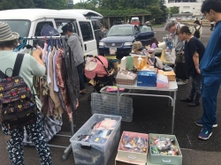 フリーマーケット in 厚別ふれあい広場 7/7(土)