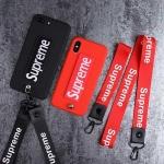 シュプリーム iphone xs maxケース カップル向け supreme iphone xr/xsカバー