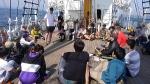 帆船みらいへ4泊5日外国人と体験航海