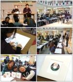 【まいぷれ教室写真館】2007年12月18日開催 立体押し花教室