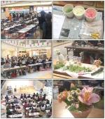 【まいぷれ教室写真館】2008年4月15日開催 フラワーアレンジメント教室