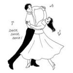 社交ダンス部【初心者講習】15-30才--日程選択自由(日曜を追加)