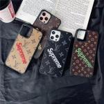 シュプリーム ヴィトンコラボ iPhone12pro maxケース Supreme iphone12プロカバー