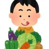 さかた男塾の野菜販売のイメージ