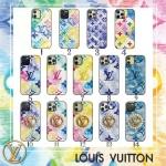 ルイヴィトン アイフォン12/12pro maxケース バレンシアガ レザーケース iphone12pro