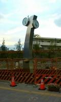 新しい時計塔発見!