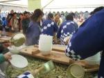 黒部峡谷きのこ鍋・黒部カニ鍋祭り