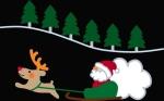 パソコンでクリスマスカード作成しました