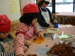 学童支援「生チョコ作りに挑戦」