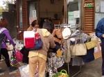 「夢マーケットおぐら」でフリマ コミュニティカフェ