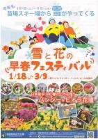 国営昭和記念公園 雪と花の早春フェスティバル
