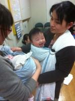 4月ベビースリング&赤ちゃんサイン体験会