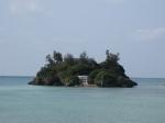 ちっちゃい島の建物
