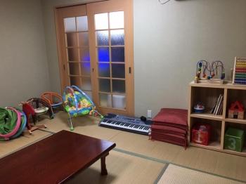 ☆Kids Room☆<br>和室だから、お昼寝やおむつ替えも安心。